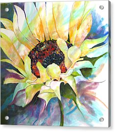 Sunflower IIi Acrylic Print by Vicki Brevell