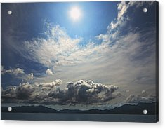 Sunlight And Cloud Acrylic Print by Afrison Ma