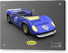 Sunoco Special Acrylic Print by Pete Chadwell