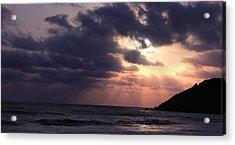 Sunrays From Heaven Acrylic Print