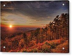 Sunrise 2-talimena Scenic Drive Arkansas Acrylic Print