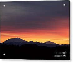 Acrylic Print featuring the photograph Sunrise 3 by Chalet Roome-Rigdon