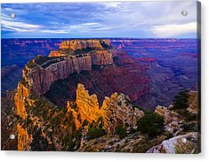 Sunrise At Cape Royal Grand Canyon Acrylic Print by John Reckleff