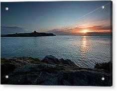 Sunrise At Dalkey Island Acrylic Print