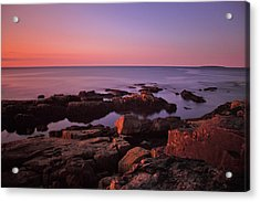 Sunrise At Otter Point Acrylic Print