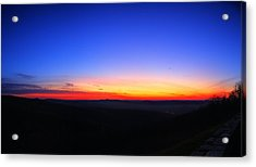 Sunrise At Skyline Drive Acrylic Print by Metro DC Photography