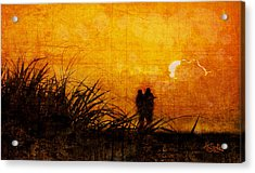 Sunrise Couple Acrylic Print