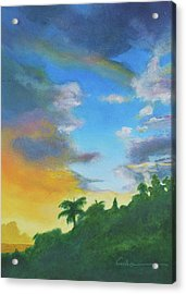Sunrise Acrylic Print by Diane Cutter