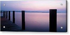 Sunrise Dock Acrylic Print
