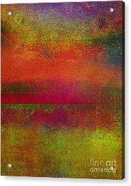 Sunrise Earth IIi Acrylic Print by Ricki Mountain