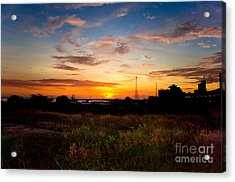 Sunrise Acrylic Print by Hector Lozano