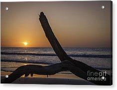 Sunrise Hunting Island Acrylic Print