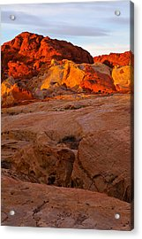 Sunrise Ignition Acrylic Print by James Marvin Phelps