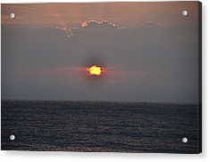 Sunrise In Melbourne Fla Acrylic Print