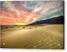 Sunrise In National Park Acrylic Print