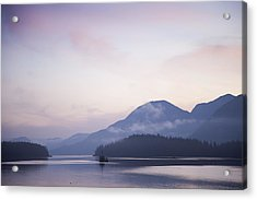 Sunrise In The Great Bear Rainforest Acrylic Print by Taylor S. Kennedy