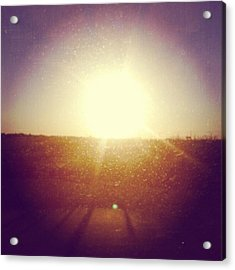 #sunrise #nature #sky #andrography Acrylic Print by Kel Hill