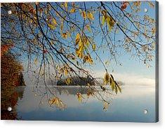 Sunrise On Low's Lake Acrylic Print