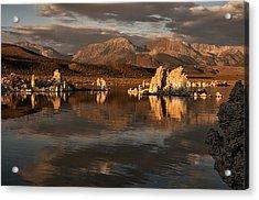 Sunrise On Mono Lake Acrylic Print