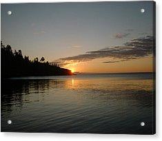 Sunrise On Superior Acrylic Print