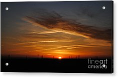 Sunrise On The 505 Acrylic Print