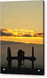 Sunrise On The Battlefield Acrylic Print