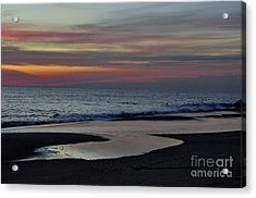 Sunrise On The Beach Acrylic Print
