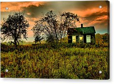 Sunrise On The Prairie Acrylic Print by Matthew Winn