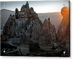 Sunrise Over Cappadocia Acrylic Print by RicardMN Photography