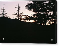 Sunrise Over Mt Still Acrylic Print by C E McConnell