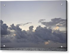 Sunrise Over Orient Bay Acrylic Print by Dottie Branchreeves