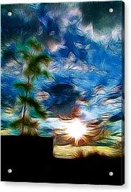 Sunrise Over Smithfield Acrylic Print