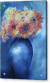 Acrylic Print featuring the painting Sunrise by Patsy Sharpe