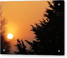 Acrylic Print featuring the photograph Sunrise by Rebecca Overton