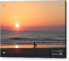 Sunrise Reflection Acrylic Print by Sandy Owens