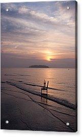 Sunrise Acrylic Print by Ron Smith