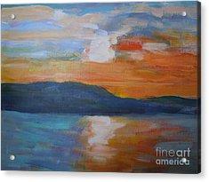 Sunrise Seascape Acrylic Print