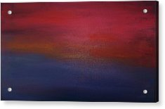 Sunrise Sunset Acrylic Print by Alanna Hug-McAnnally