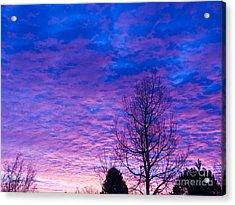 Sunrise Surprise 6 Acrylic Print by Scotts Scapes