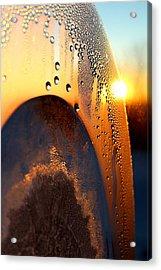 Sunrise Thru Ice Acrylic Print