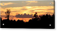 Sunset 1 Acrylic Print by Veronica Ventress