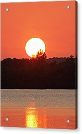 Sunset 3 Acrylic Print by Becky Lodes