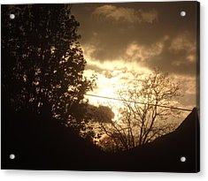 Sunset - April 30 2012 Acrylic Print