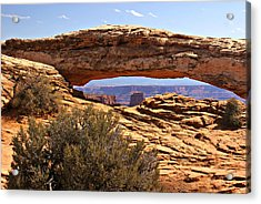 Sunset Arch Acrylic Print by Marty Koch