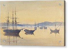Sunset At Constantinople Acrylic Print