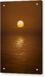 Sunset At Hoopers Point Acrylic Print by Andy Astbury