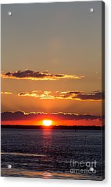 Sunset At Ir Acrylic Print