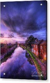 Sunset At Loughborough Acrylic Print by Yhun Suarez