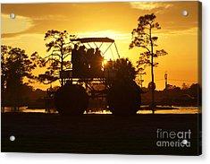 Sunset Buggy Acrylic Print by Lynda Dawson-Youngclaus