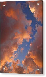 Sunset Cloudscape 1035 Acrylic Print by James BO  Insogna